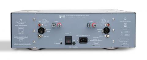 ATC P2 power amplifier rear panel